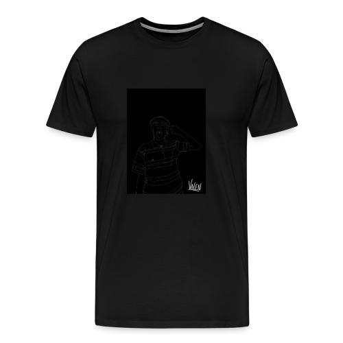 BlancoYnegro - Camiseta premium hombre
