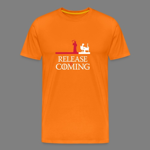 release is coming - Männer Premium T-Shirt