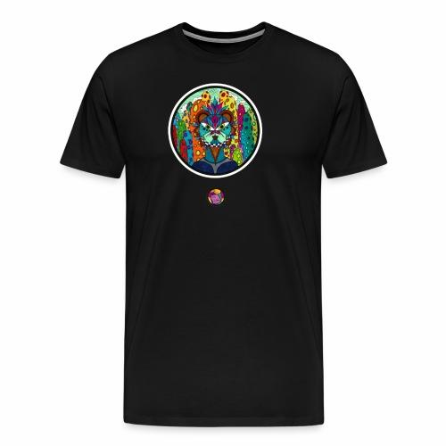 Le chat des colonnes bulleuses - T-shirt Premium Homme