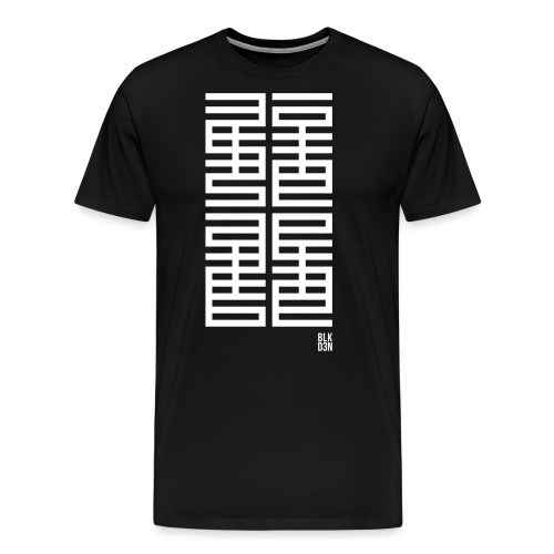BLK D3N 013 - Men's Premium T-Shirt