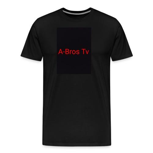 A-Bros Tv red - Männer Premium T-Shirt