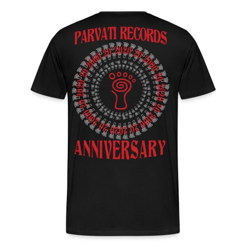 Parvati Records Anniversary - Men's Premium T-Shirt