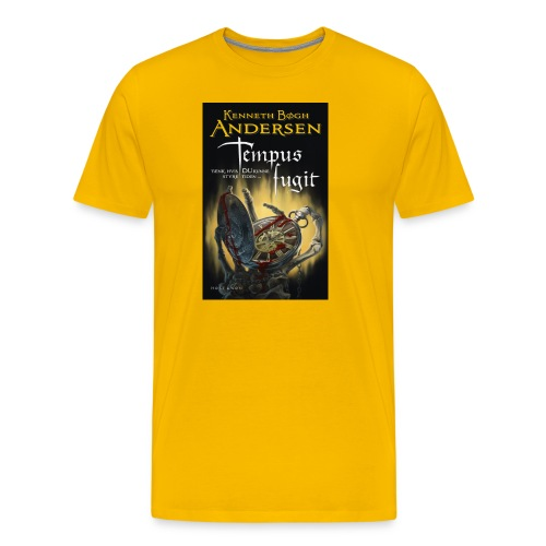 Temput fugit - Herre premium T-shirt