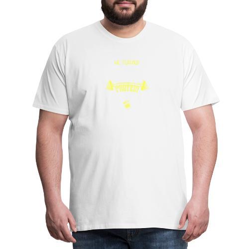 workout protein shake - Männer Premium T-Shirt