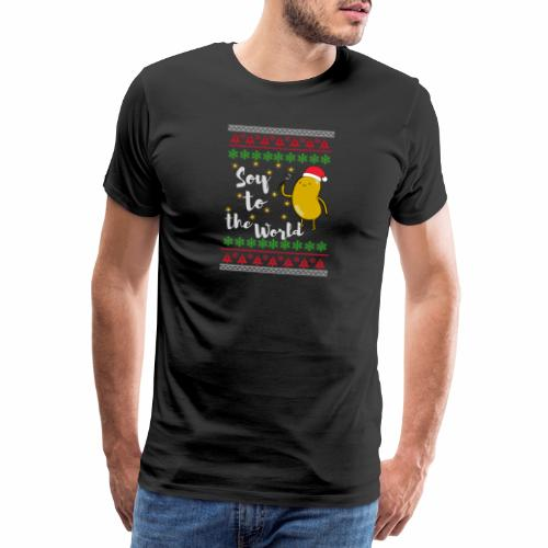 Soy to the world 1 - Mannen Premium T-shirt