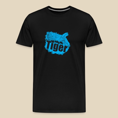 Blue Tiger - T-shirt Premium Homme