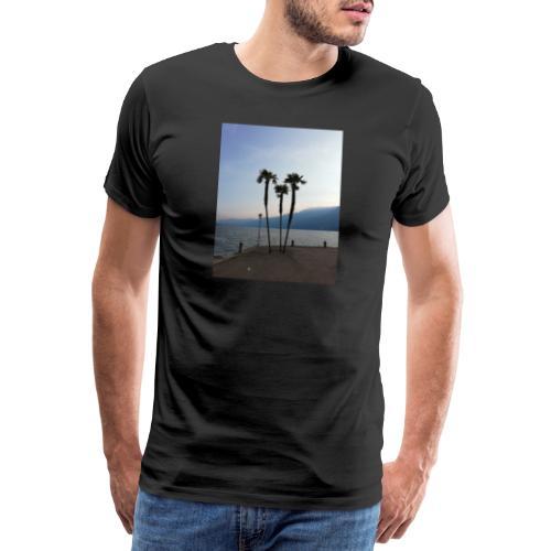Palmen - Männer Premium T-Shirt