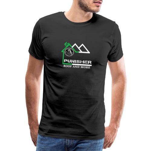 PUNISHER LOGO komplett FRONT u. Back - Männer Premium T-Shirt