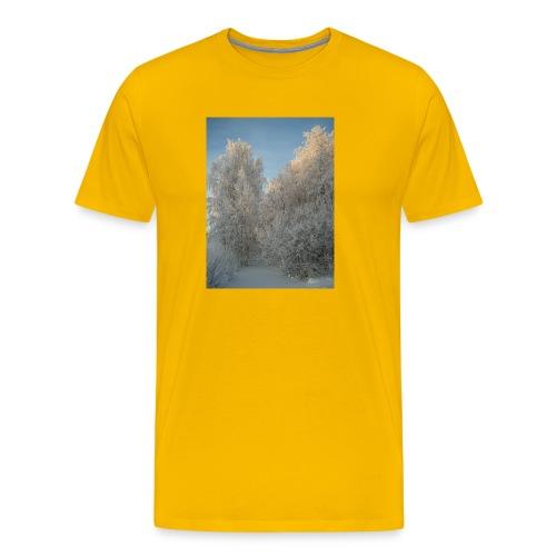 Talviset puut - Miesten premium t-paita