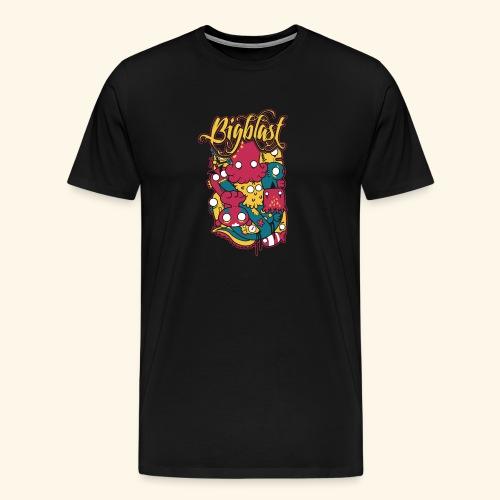 Bigblast - Camiseta premium hombre
