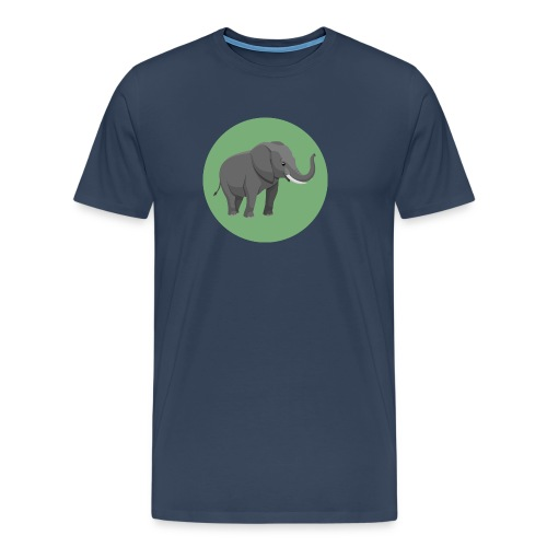 Elefantenklasse Shirt - Männer Premium T-Shirt