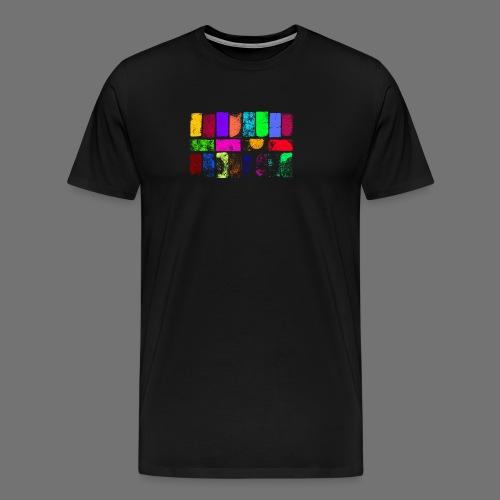 Witraże z drewna - Koszulka męska Premium