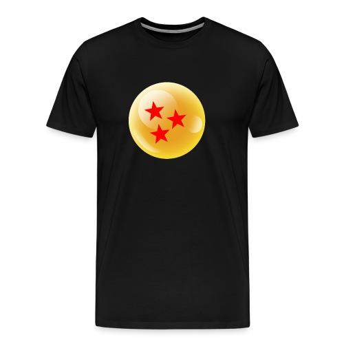 3 Estrellas Bola dragón - Camiseta premium hombre
