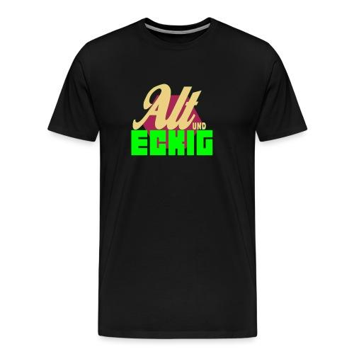 AltUndEckig-Logo - Männer Premium T-Shirt