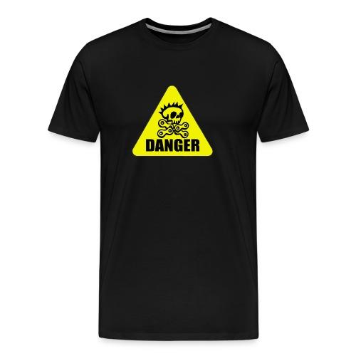 achtung radpirat danger - Männer Premium T-Shirt