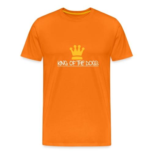 kingofthedogs - Miesten premium t-paita
