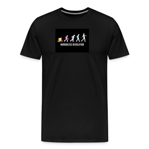 mirrorless evolution - Camiseta premium hombre