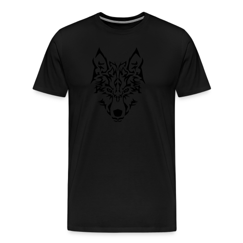 Tribal Wolf - T-shirt Premium Homme