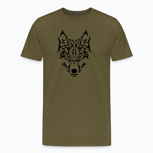 Tribal Wolf - T-shirt Premium Homme