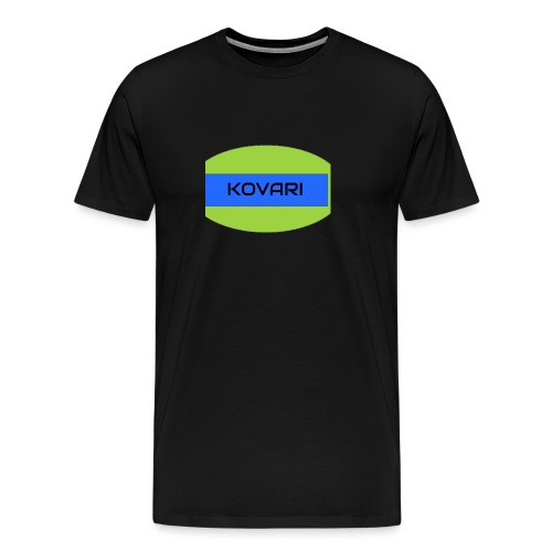 Kovari Logo - Miesten premium t-paita