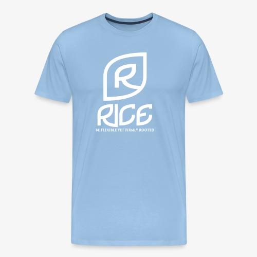 rice vector - Mannen Premium T-shirt