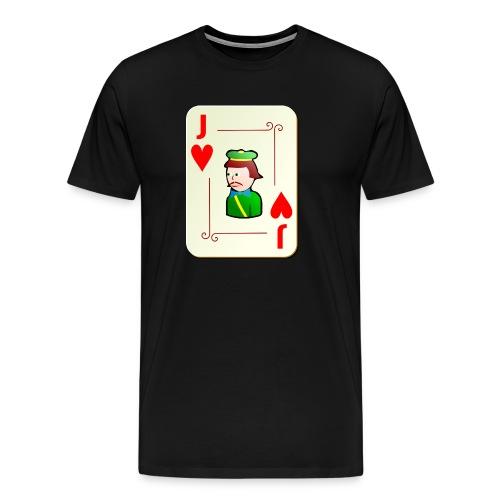 Jack Hearts png - Men's Premium T-Shirt