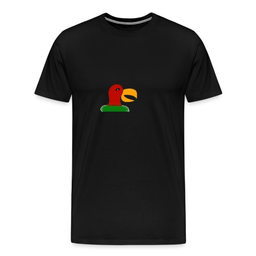 Parrots head - Men's Premium T-Shirt