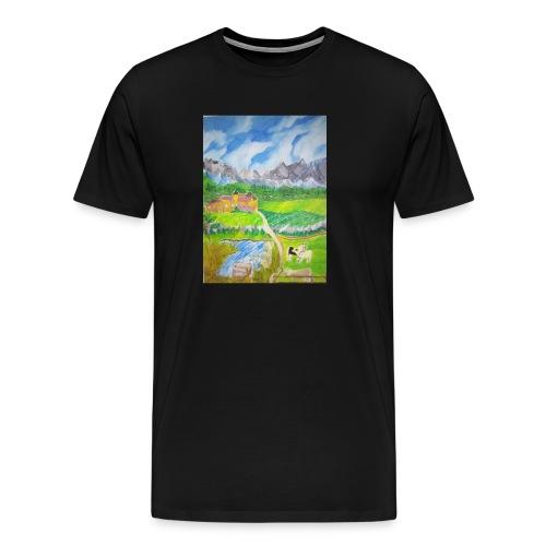 LandIMG 20180818 140244 - Männer Premium T-Shirt