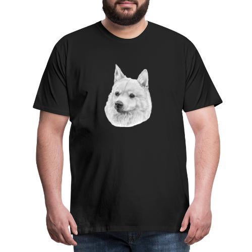 norwegian Buhund - Herre premium T-shirt