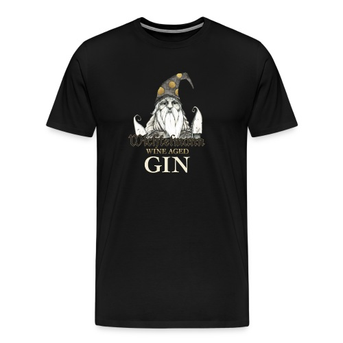Wichtelmann Wine Aged Gin Desing - Männer Premium T-Shirt