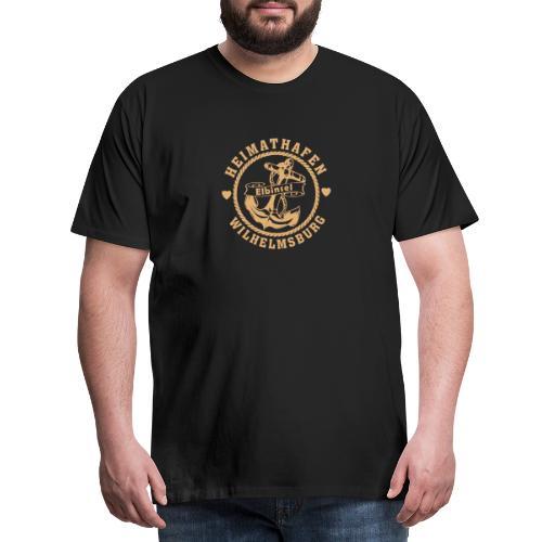 Heimathafen-Wilhelmsburg - Männer Premium T-Shirt