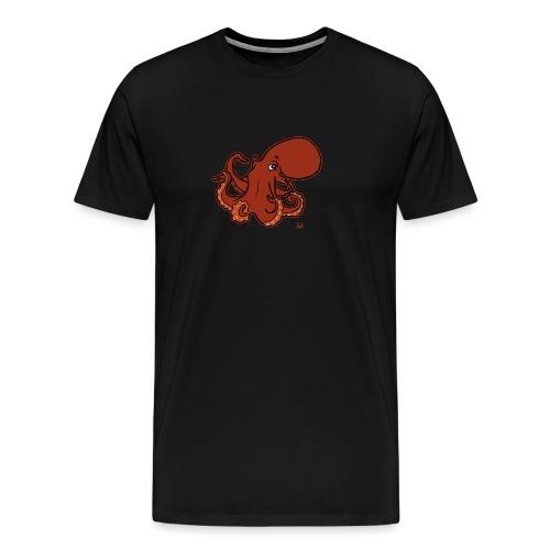 Giant Pacific Octopus (black edition) - T-shirt Premium Homme