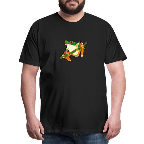 der Frosch - Männer Premium T-Shirt