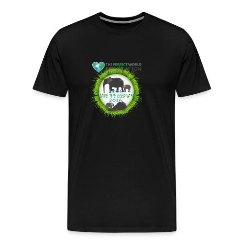 Save the elephant - Erik - Premium-T-shirt herr
