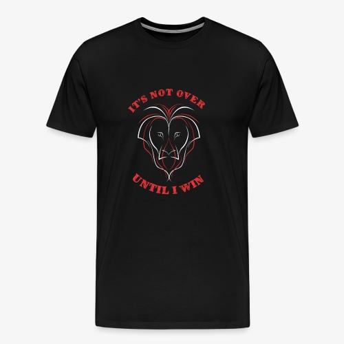 Lion Win - Mannen Premium T-shirt