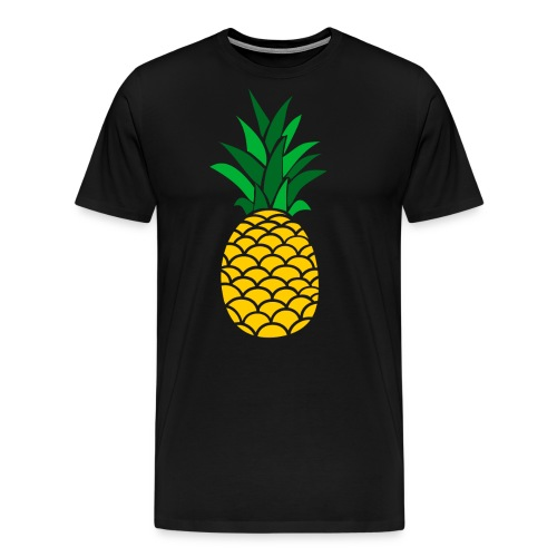 Colored Pineapple Clothing Collection - Men's Premium T-Shirt