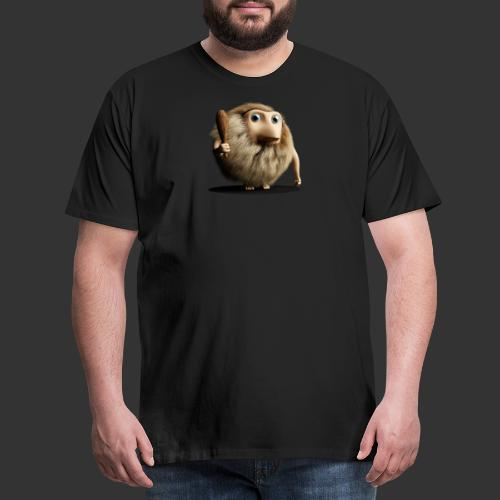 Neandertaler Neanderthaler Urmensch mit Keule - Männer Premium T-Shirt