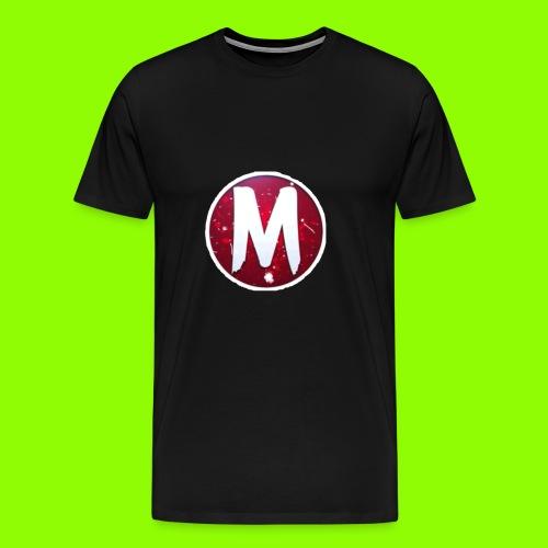 MADLOGO - Herre premium T-shirt
