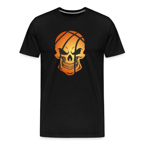 Basketball Skull Herren Tanktop - Männer Premium T-Shirt