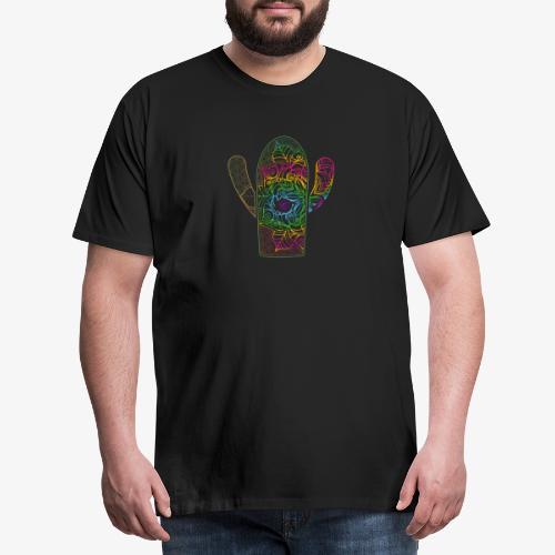 mandala3 - Koszulka męska Premium