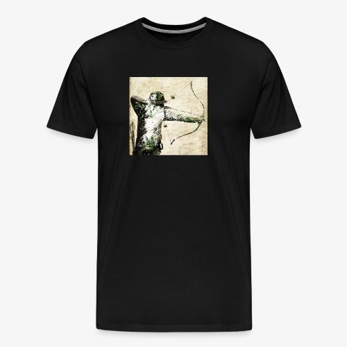 chasseur à l arc pop arc - T-shirt Premium Homme