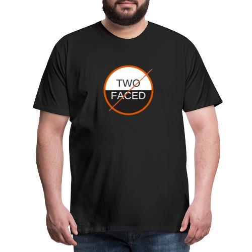 TWO FACED - Men's Premium T-Shirt