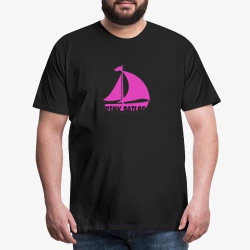 PINK SAILOR - Premium-T-shirt herr