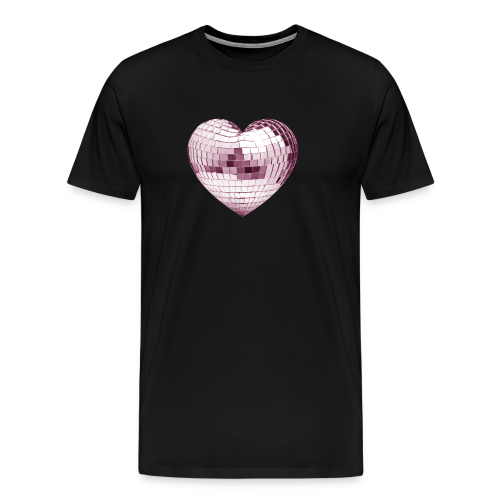 DISCO LOVE BALL - T-shirt Premium Homme