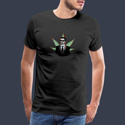 Linaras Hacked Design - Men's Premium T-Shirt