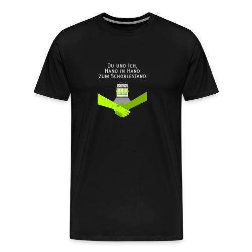 Hand in Hand zum Schorlestand - Männer Premium T-Shirt