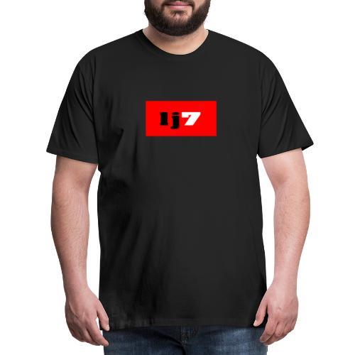 lj7 - Premium-T-shirt herr