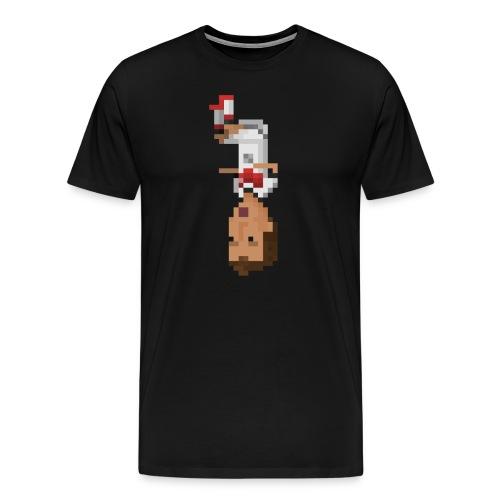 German Front Flip - Men's Premium T-Shirt