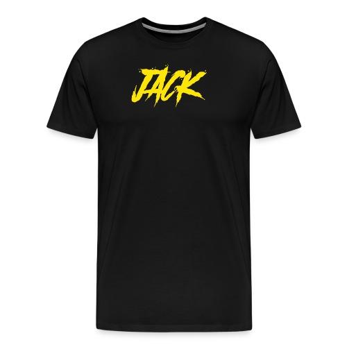 Jack gelb - Männer Premium T-Shirt