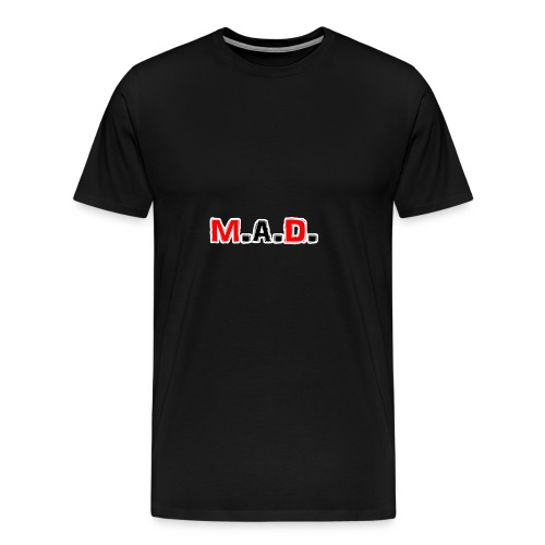 MAD logo - Men's Premium T-Shirt